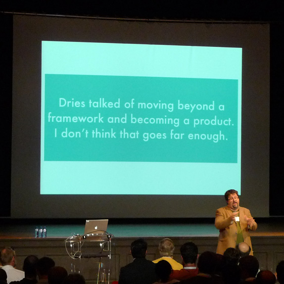Chris Heuer and his view on the direction in which Drupal is moving